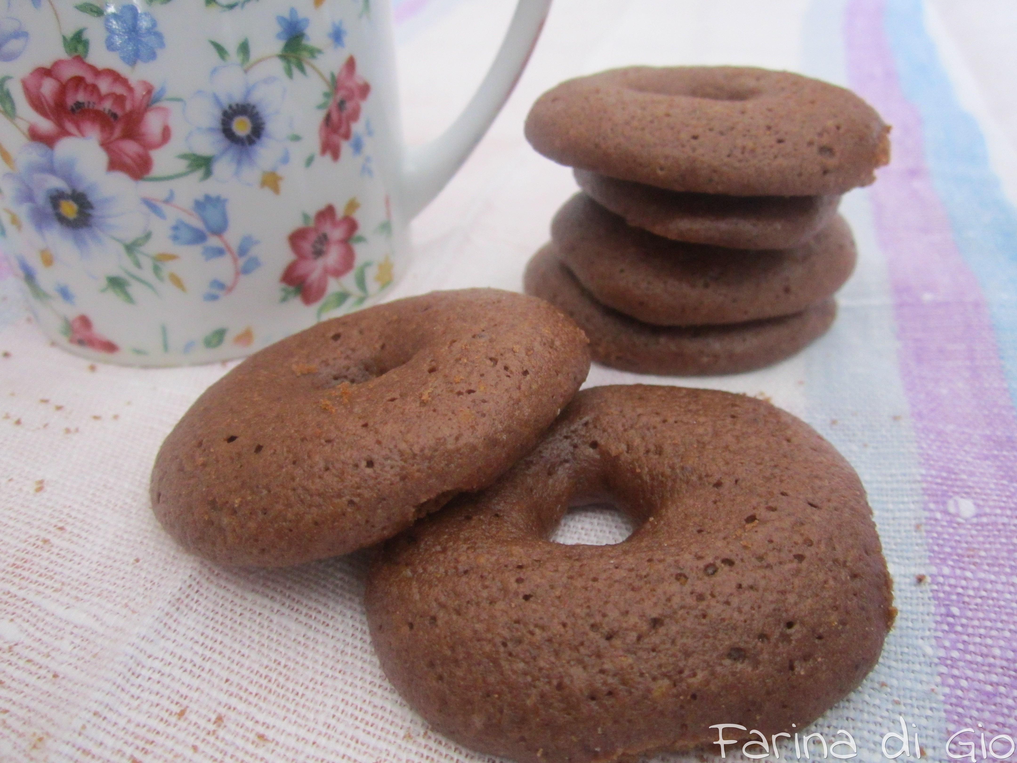 biscotti farro cacao