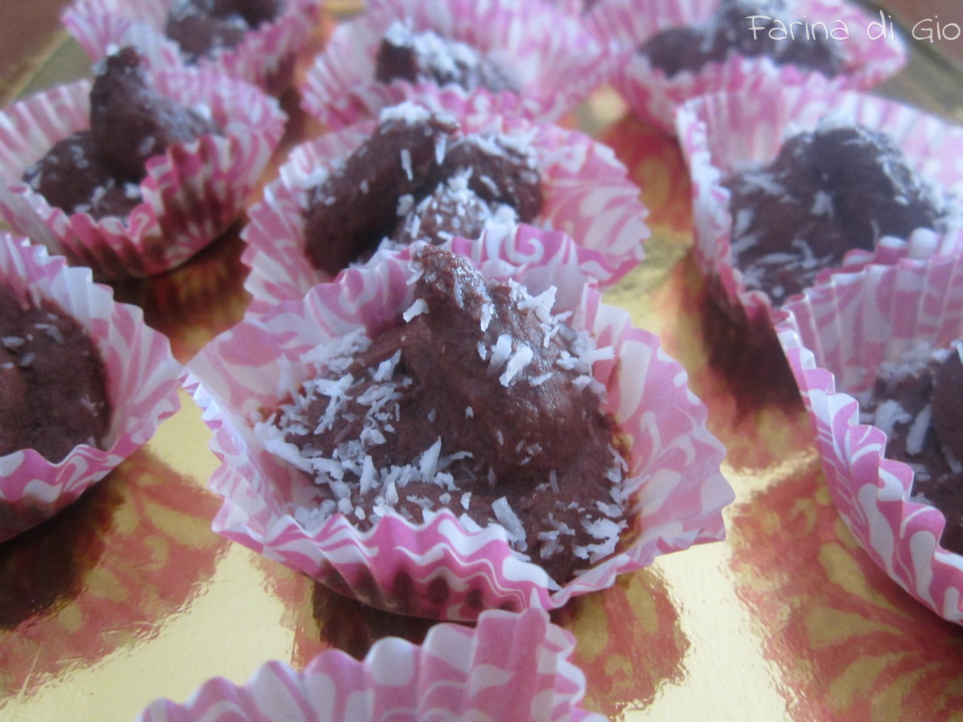 tarfufi di cioccolato