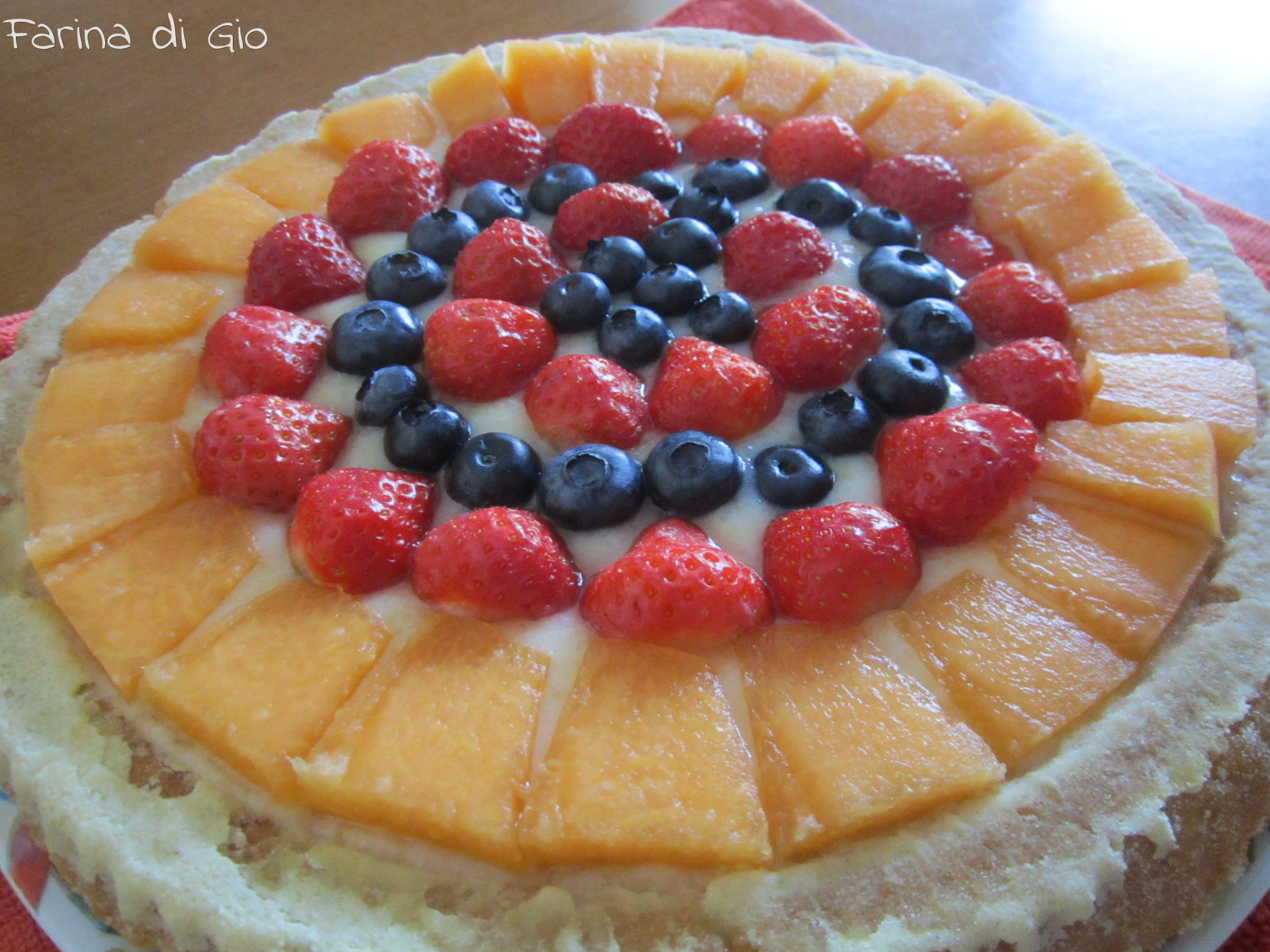 torta ala frutta
