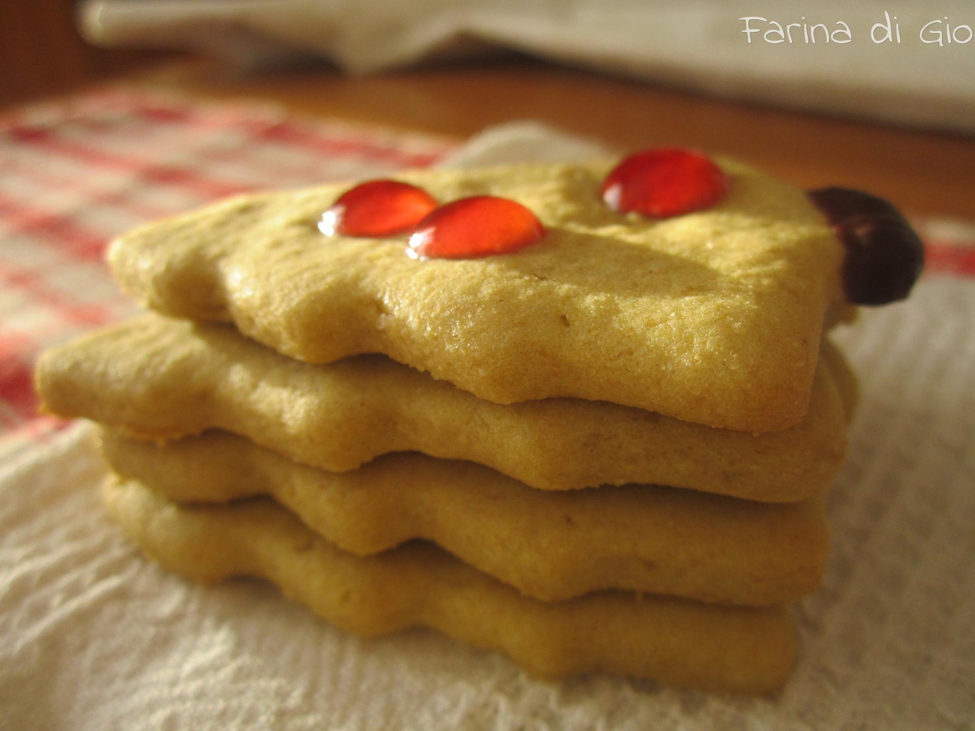 biscotti farina farro
