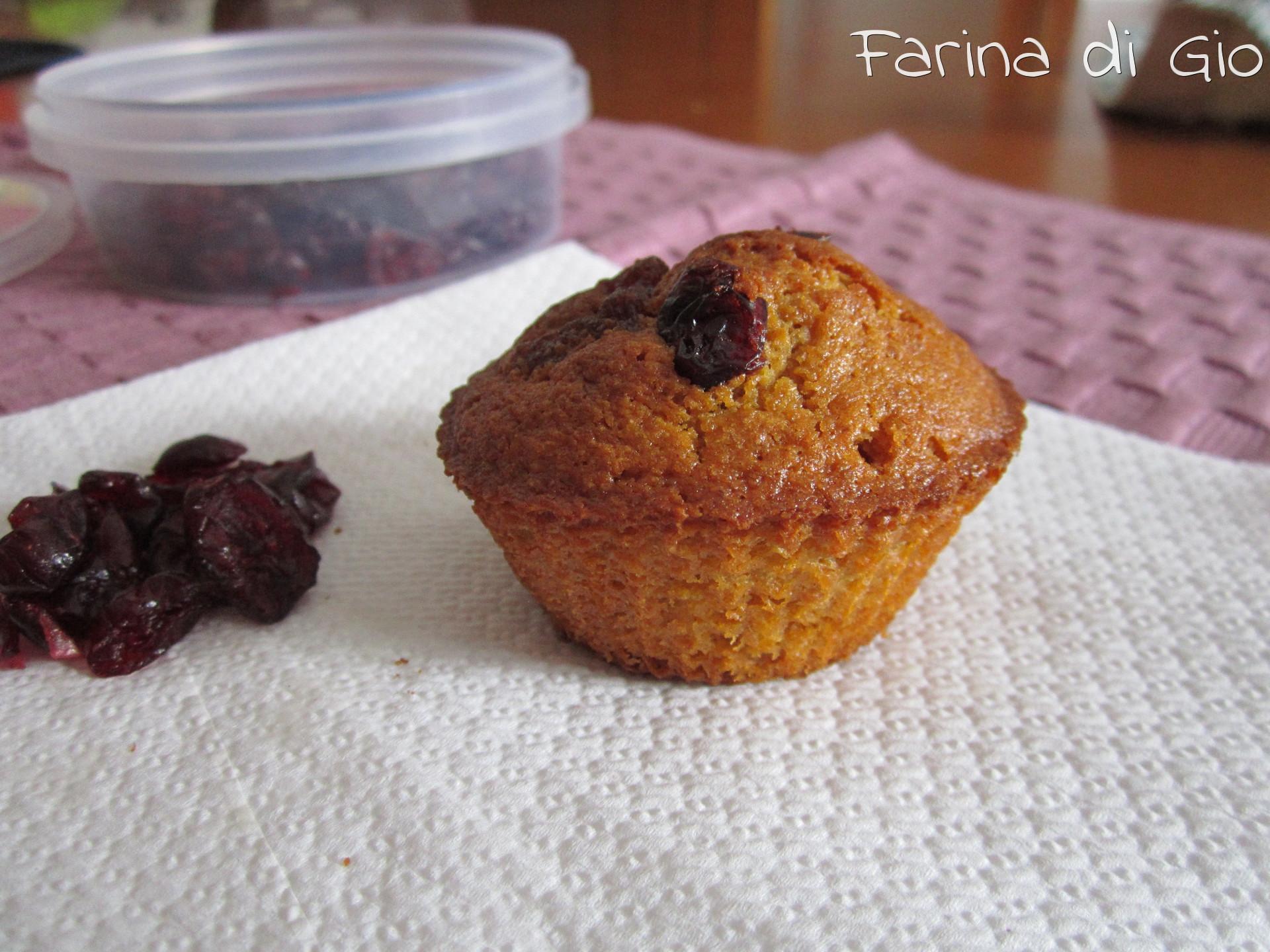 muffin integrali senza frumento