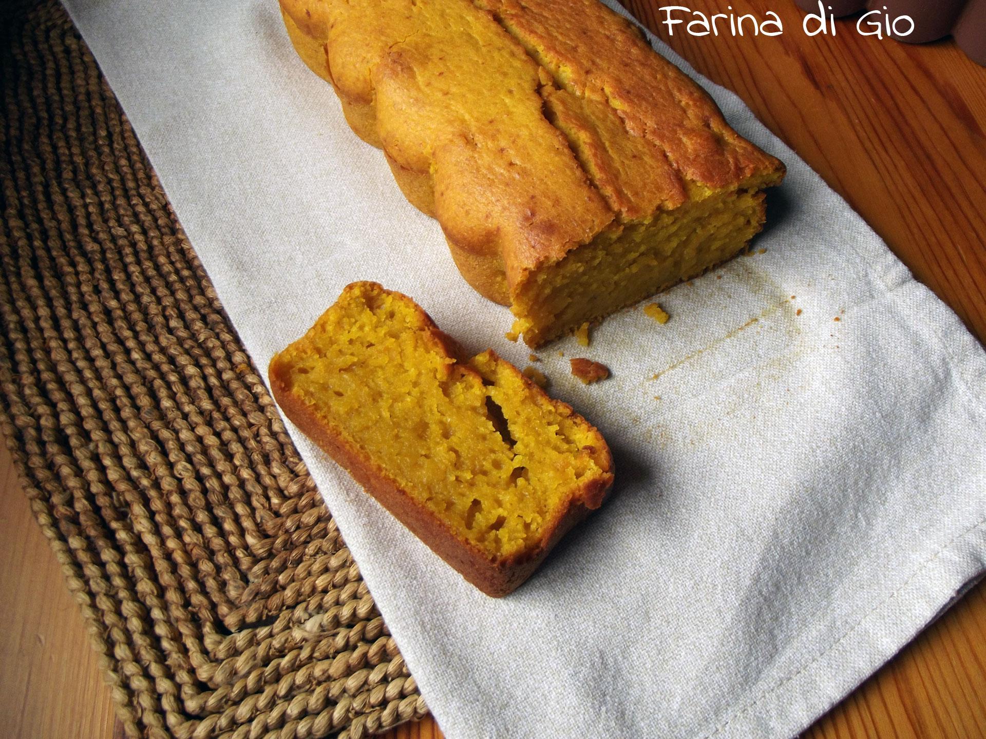 cake zucca senza frumento