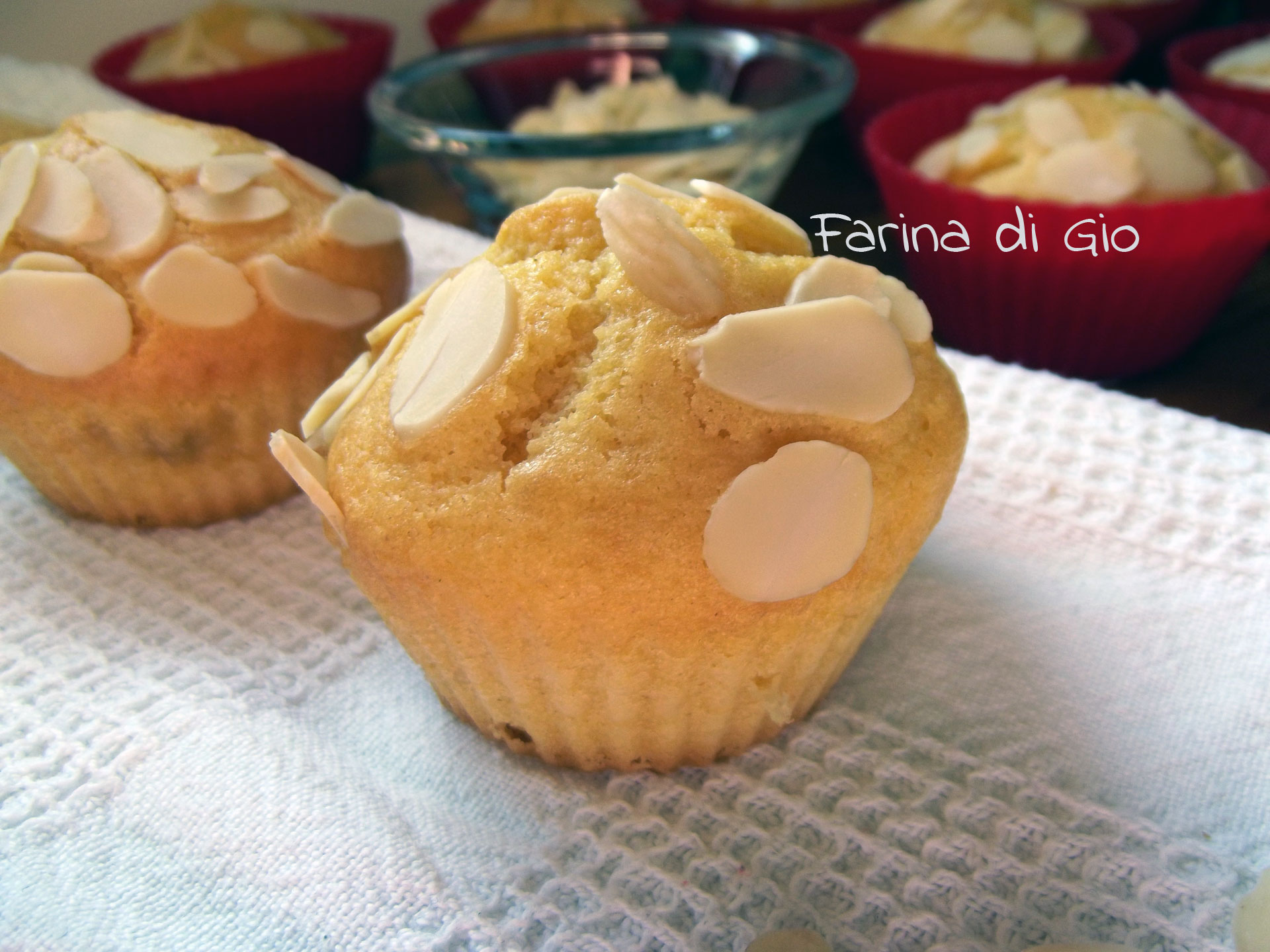muffin marmellata mandorle
