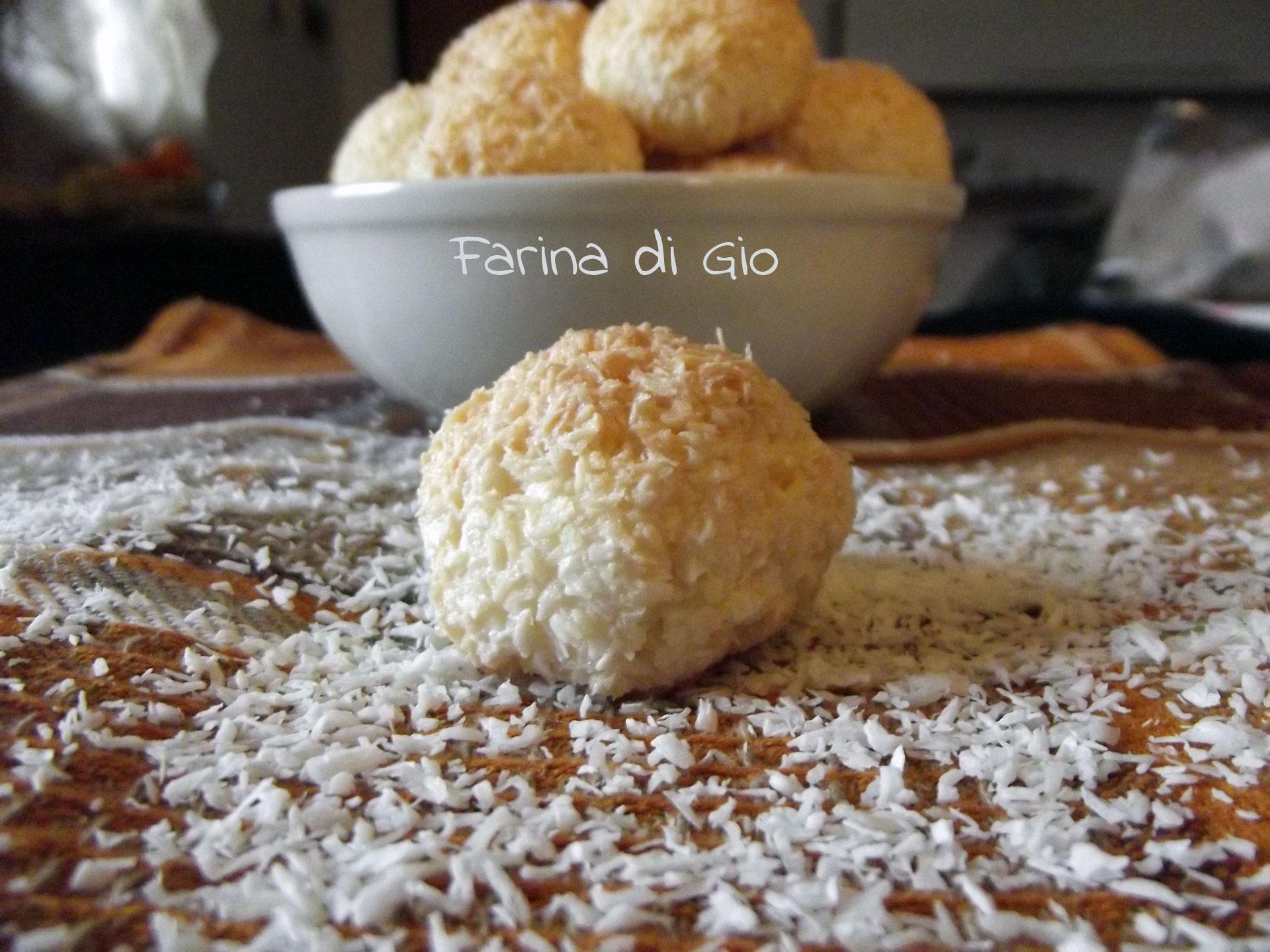 biscotti cocco senza glutine