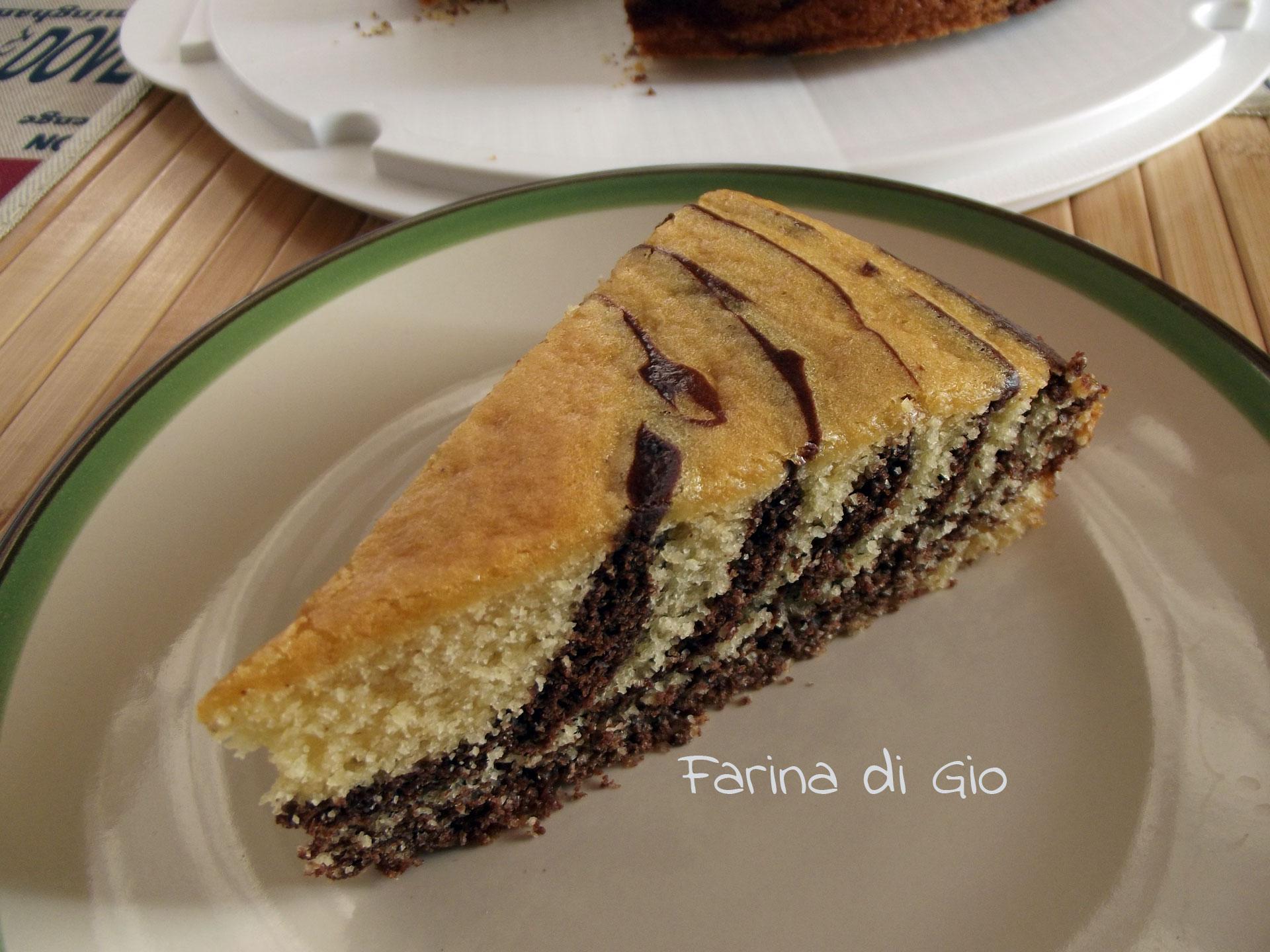 torta zebra cake