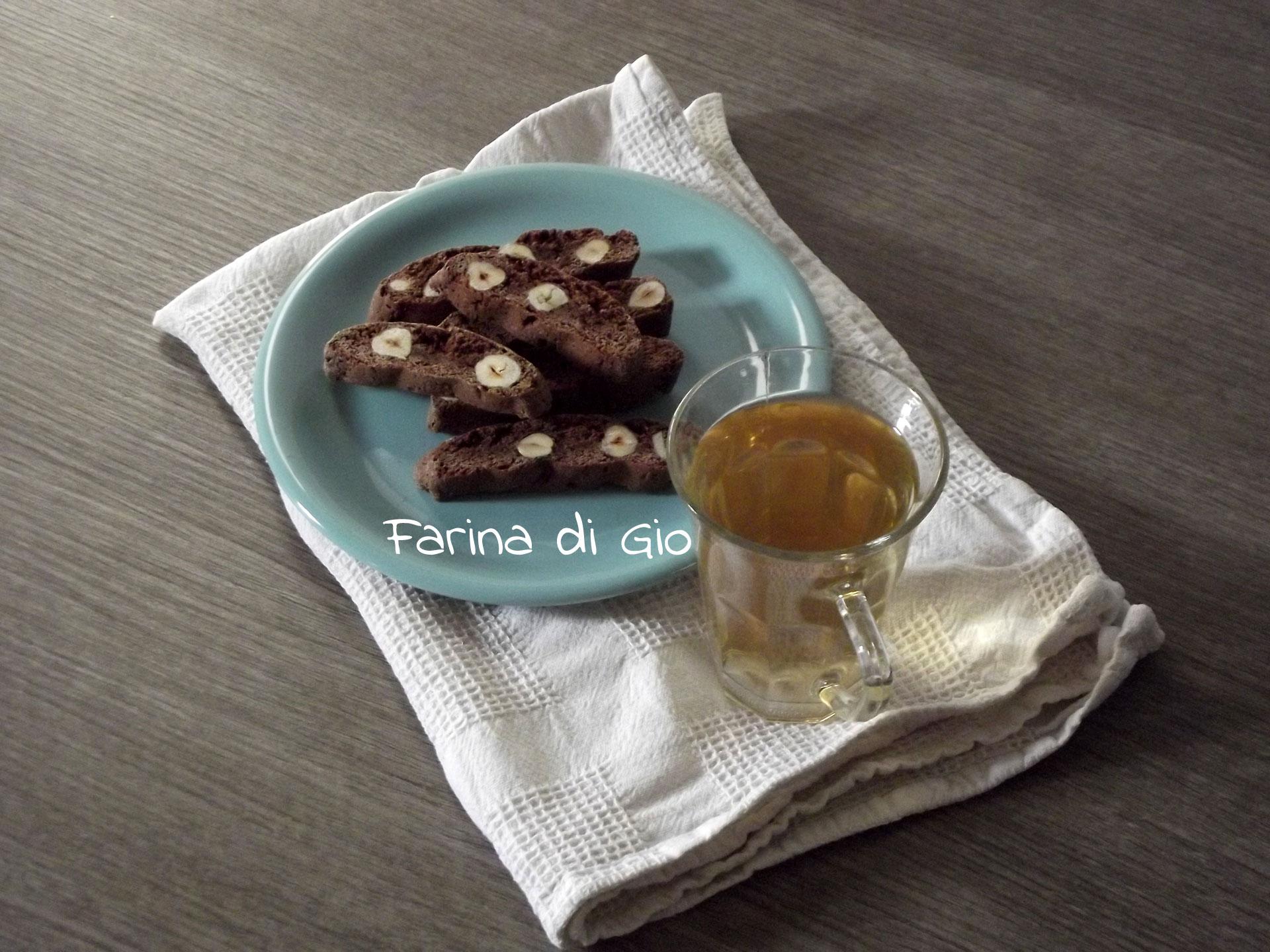 cantucci cacao nocciole